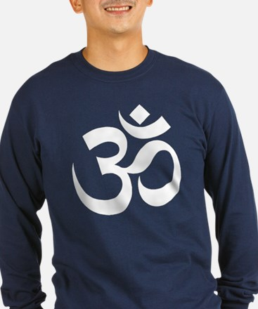 Om Men's Dark Shirt Long Sleeve T-Shirt