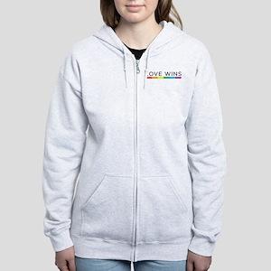 Love Wins Women's Zip Hoodie