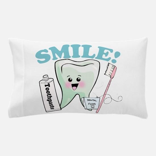 Smile Dentist Dental Hygiene Pillow Case