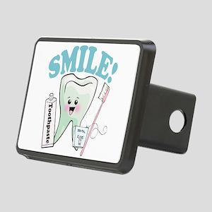 Smile Dentist Dental Hygie Rectangular Hitch Cover
