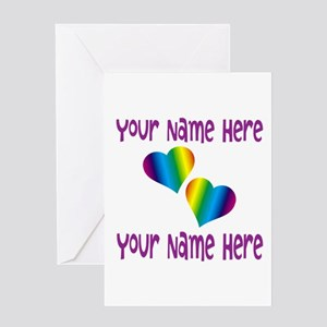 Rainbow Love Greeting Cards