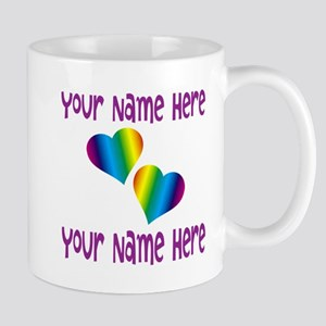 Rainbow Love Mugs
