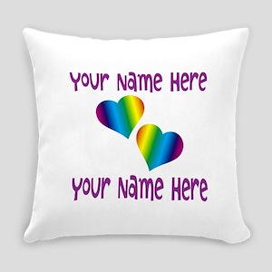 Rainbow Love Everyday Pillow