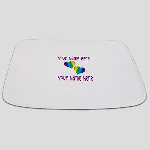 Rainbow Love Bathmat