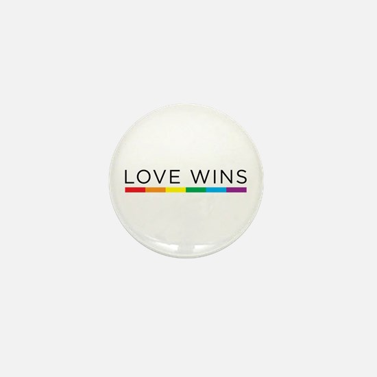 Love Wins Mini Button