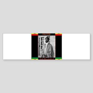 Haile Selassie I Jah Rastafari Bumper Sticker