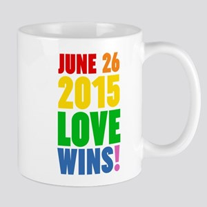 June 26 2016 Love Wins Mugs