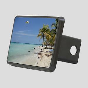 Negril Beach Jamaica Rectangular Hitch Cover
