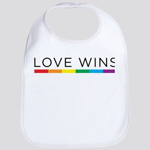 Love Wins Bib