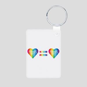 Love Equals Love Keychains