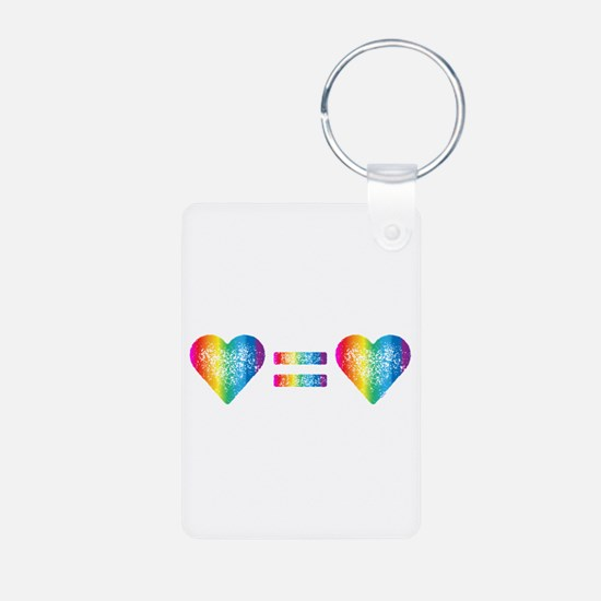 Love Equals Love Keychains