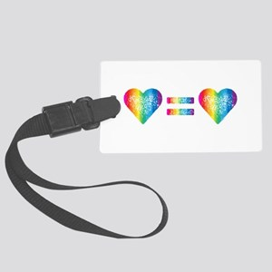 Love Equals Love Luggage Tag