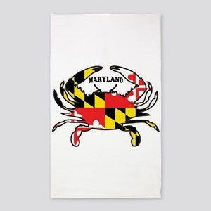 MARYLAND CRAB Area Rug