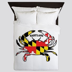 Maryland Crab Queen Duvet