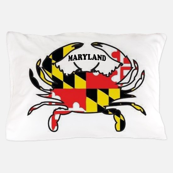 Maryland Crab Pillow Case