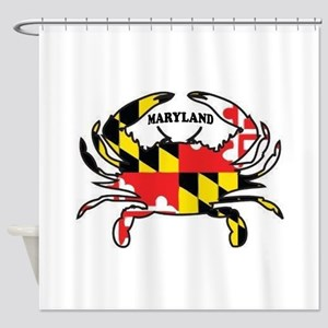 MARYLAND CRAB Shower Curtain