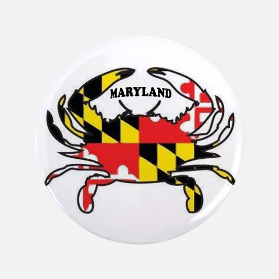 Maryland Crab Button