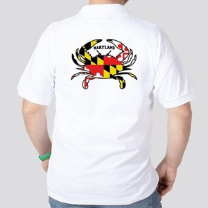 Maryland Crab Golf Shirt