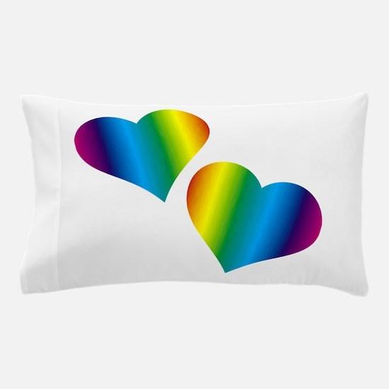 Rainbow Love Pillow Case