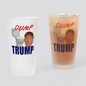 Dump Trump Drinking Glass