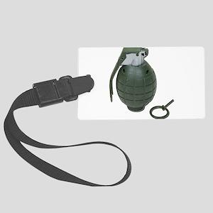Grenade102410 Large Luggage Tag