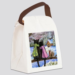 cat 585 Canvas Lunch Bag