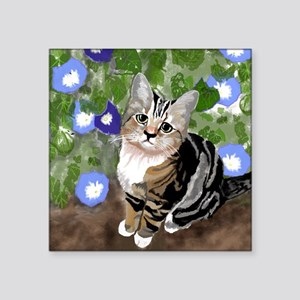 "Stewie - The First Kitten Square Sticker 3"" x 3"""