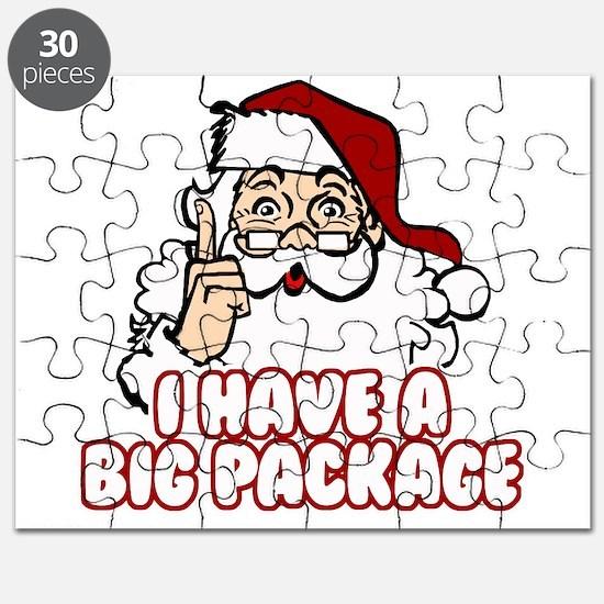 Santa Has A Big Package Puzzle