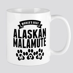 Worlds Best Alaskan Malamute Mom Mugs