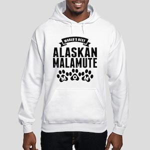 Worlds Best Alaskan Malamute Mom Hoodie