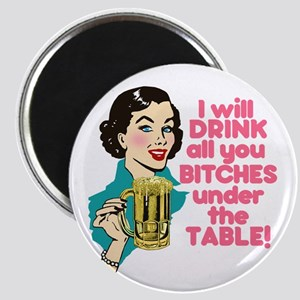 Funny Beer Drinking Humor Magnet