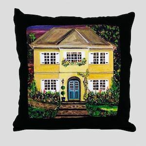 Sarah's Dream House Throw Pillow