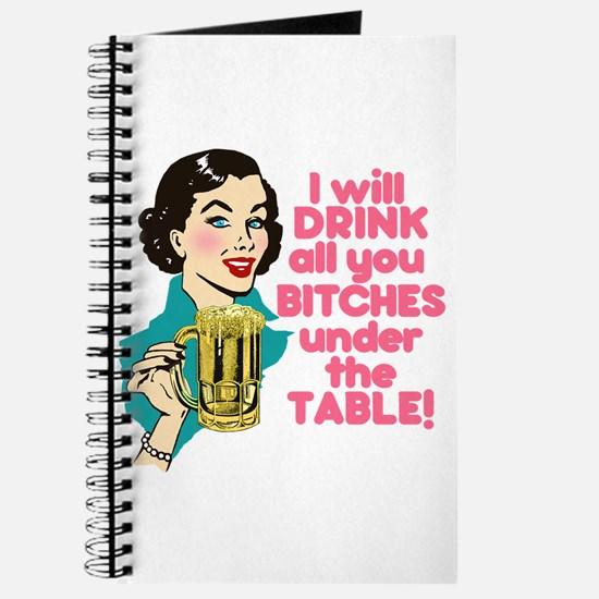 Funny Beer Drinking Humor Journal