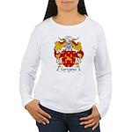Carregosa Family Crest Women's Long Sleeve T-Shirt