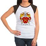 Carregosa Family Crest Women's Cap Sleeve T-Shirt
