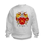 Carregosa Family Crest Kids Sweatshirt