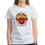 Carregosa Family Crest Women's T-Shirt