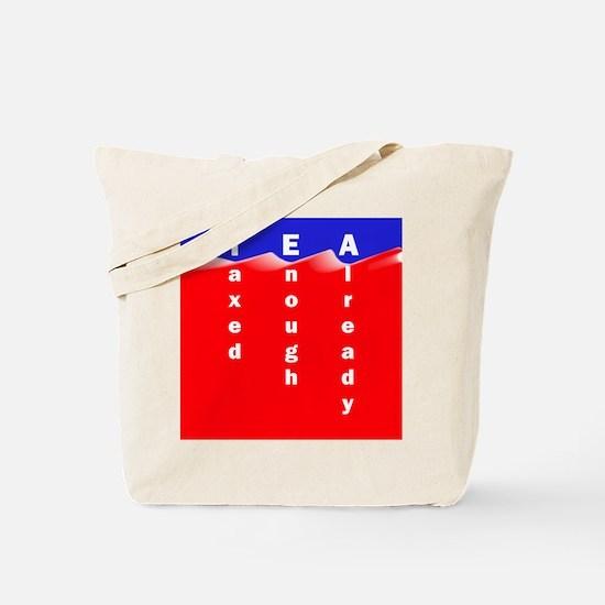 Liberals are fascist* Tote Bag