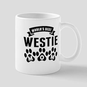 Worlds Best Westie Mom Mugs