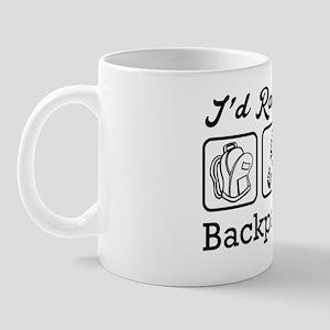 I'd Rather Be Backpacking Mug