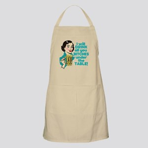 Funny Beer Drinking Humor Apron