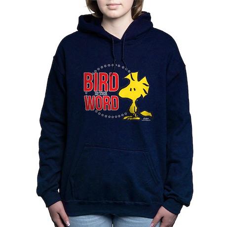 Felpa Pullover Is con 1612381434 cappuccio Bird The Word rx4rAYqOz