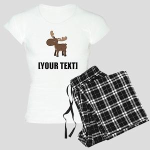 Cartoon Moose Personalize It! Pajamas