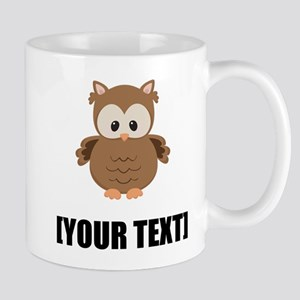 Cartoon Owl Personalize It! Mugs
