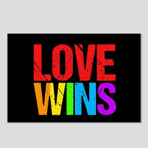 Love Wins Postcards (Package of 8)