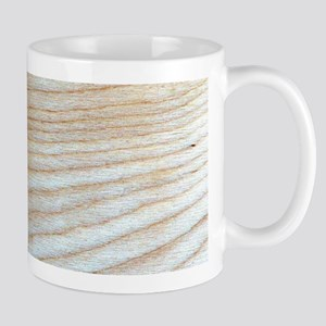 Chic Unique Wood Grain Poppy's Fave Mugs