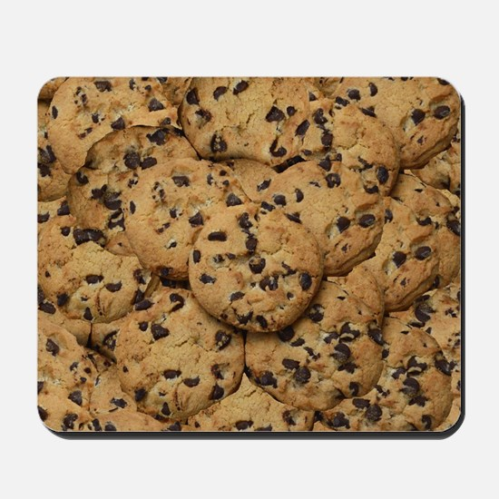 Chocolate Chop Cookie Pattern Mousepad