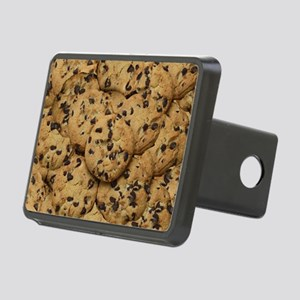 Chocolate Chop Cookie Patt Rectangular Hitch Cover