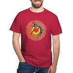 Lizard Kokopelli Sun Dark T-Shirt