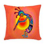 Lizard Kokopelli Sun Everyday Pillow